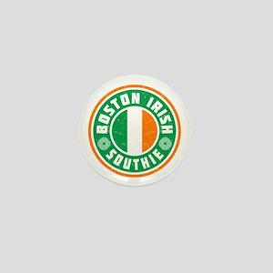 Boston Irish Southie Mini Button