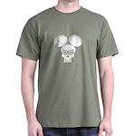 Puny-sher Mouse Skull Dark T-Shirt