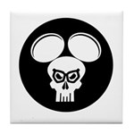Puny-sher Mouse Skull Tile Coaster
