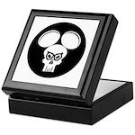 Puny-sher Mouse Skull Keepsake Box