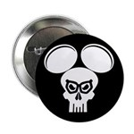 Puny-sher Mouse Skull Button