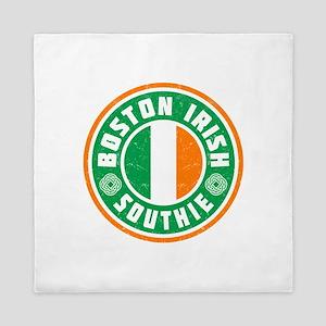 Boston Irish Southie Queen Duvet
