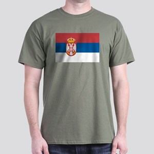 Serbian flag Dark T-Shirt