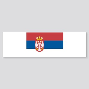 Serbian flag Bumper Sticker