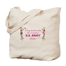 I Raised A Soldier Tote Bag