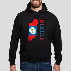 Map Of Belize Sweatshirt