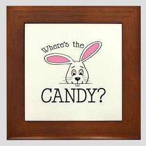 Where's The Candy? Framed Tile