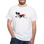 Superhero Al B. Mouse White T-Shirt