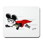 Superhero Al B. Mouse Mousepad