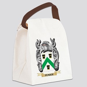 Pember Coat of Arms - Family Cres Canvas Lunch Bag