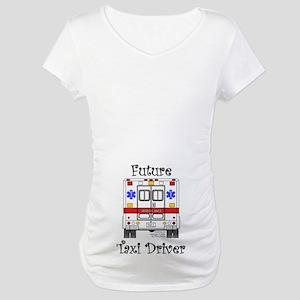 Future Taxi Driver Maternity T-Shirt
