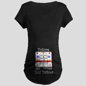 Future Taxi Driver Maternity Dark T-Shirt