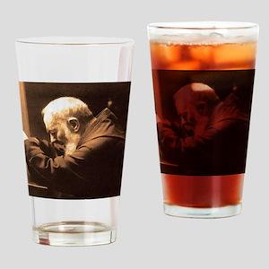 Padre Pio Drinking Glass
