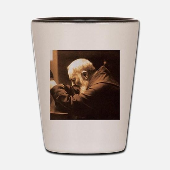 Padre Pio Shot Glass