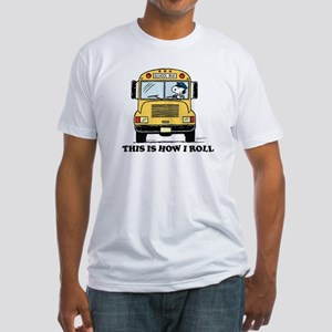Snoopy: This is How I Roll Fitted T-Shirt