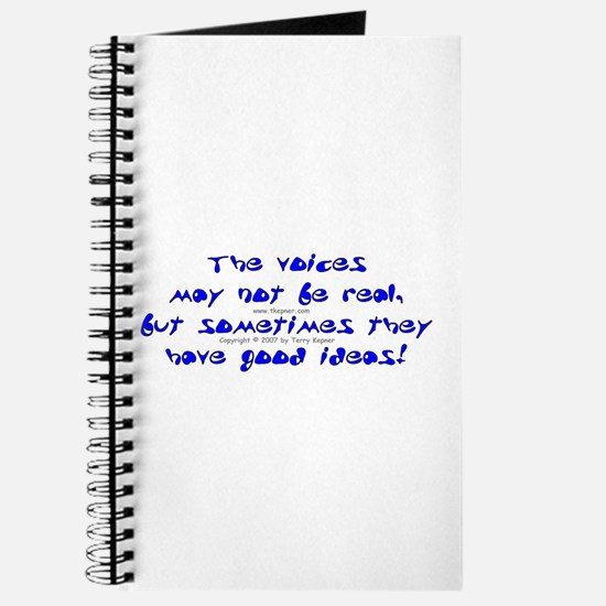 Voices Not Real Journal