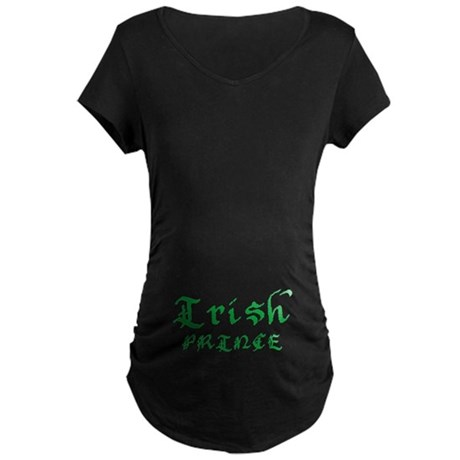 Irish Prince Maternity Dark T-Shirt