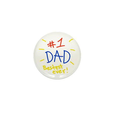 #1 dad Mini Button