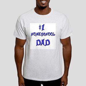 #1 Homeschool Dad Light T-Shirt