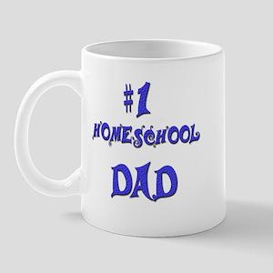 #1 Homeschool Dad Mug