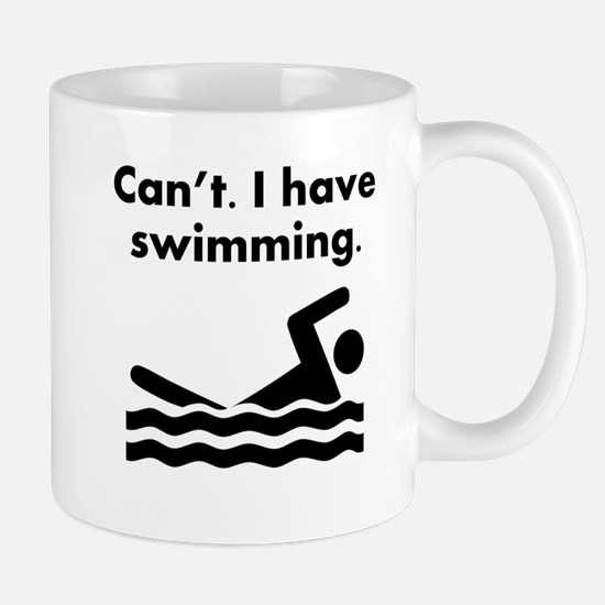 Cant I Have Swimming Mugs