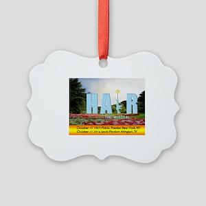 HAiR the Musical Arlington, TX Picture Ornament