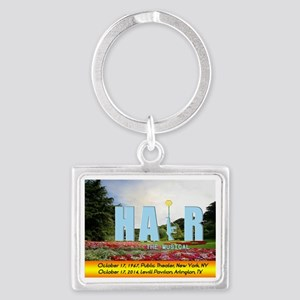 HAiR the Musical Arlington, TX Landscape Keychain