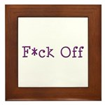 F*ck Off Framed Tile