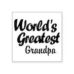 Worlds Greatest Sticker