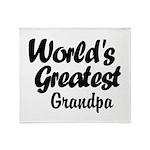 Worlds Greatest Throw Blanket