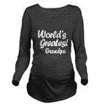 Worlds Greatest Long Sleeve Maternity T-Shirt