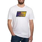 USS DANIEL WEBSTER Fitted T-Shirt