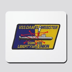 USS DANIEL WEBSTER Mousepad