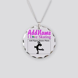 SUPER STAR SKATER Necklace Circle Charm