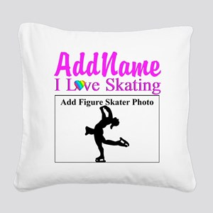 SUPER STAR SKATER Square Canvas Pillow