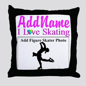 SUPER STAR SKATER Throw Pillow