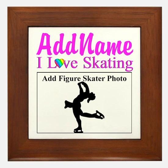 SUPER STAR SKATER Framed Tile