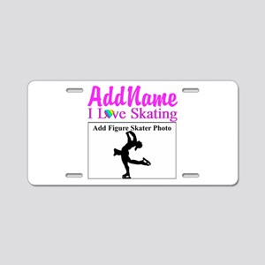 SUPER STAR SKATER Aluminum License Plate