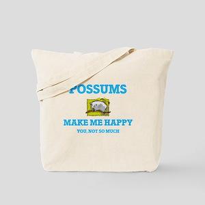 Possums Make Me Happy Tote Bag