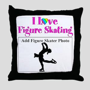 CHAMPION SKATER Throw Pillow