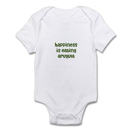 happiness is eating arugula Infant Bodysuit