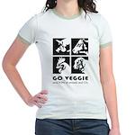 Go Veggie Jr. Ringer T-Shirt