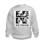 Go Veggie Kids Sweatshirt
