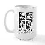 Go Veggie Large Mug