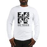 Go Veggie Long Sleeve T-Shirt