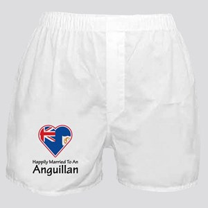 Happily Married Anguillan Boxer Shorts