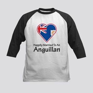 Happily Married Anguillan Kids Baseball Jersey