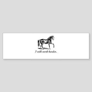 Boxer's Maxim Decor Bumper Sticker