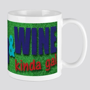 I'm A Soccer & Wine Kinda Gal Mugs