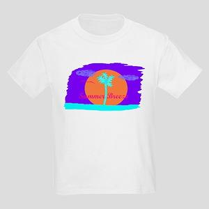 Neon Summer Breeze Kids Light T-Shirt